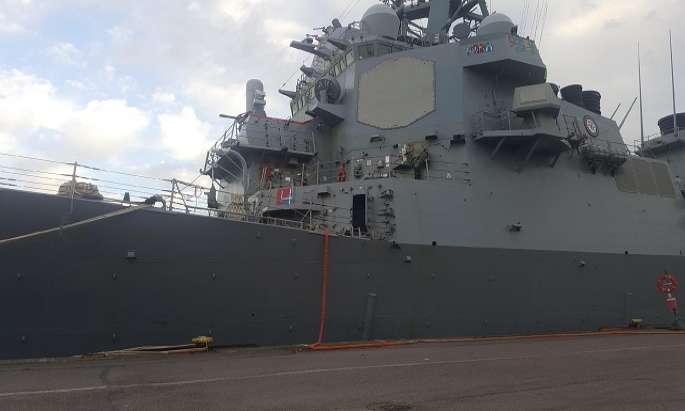 Combat vessel USS Porter arrives in Helsinki