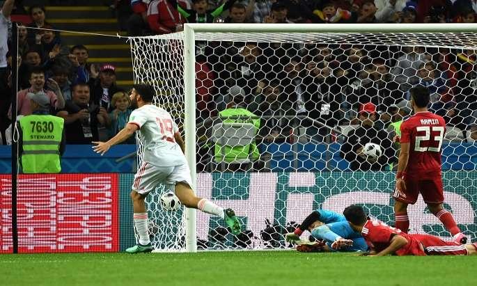Costa inspires Spain to 1-0 win over Iran