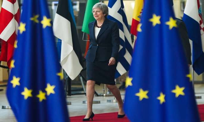 EU, UK agree on 95% of Brexit deal: May